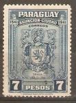 Sellos de America - Paraguay -  ESCUDO  DE  YRALA