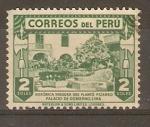 Stamps Peru -  HIGUERA  PLANTADA  POR  FRANCISCO  PIZARRO