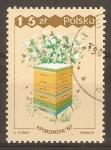 Stamps Poland -  COLMENA  DE  ABEJAS