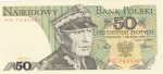 monedas de Europa - Polonia -  BILLETE DE POLONIA- Karol Swierczewski