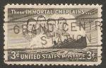 Stamps United States -  508 - En memoria a los cuatro capellanes del carguero Drochester
