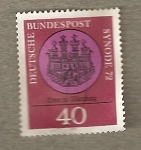 Sellos de Europa - Alemania -  Catedral de Würzburg