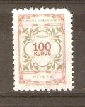 Stamps Turkey -  DISEÑOS