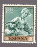Sellos de Europa - España -  Pescadora valenciana- Sorolla