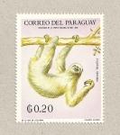 Stamps Paraguay -  Perezoso tridactilo