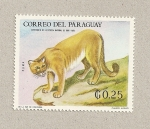 Stamps Paraguay -  Puma