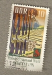 Stamps Germany -  Protección bosques