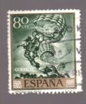 Stamps Spain -  aeronautas-sert-día del sello