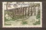 Stamps France -  VIADUCTO  DE  CHAUMONT