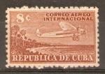 Stamps Cuba -  AEROPLANO  Y  PLAYAS