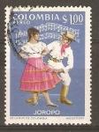 Stamps Colombia -  BAILE  DEL  JOROPO