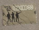 sellos de America - México -  Olimpiadas Mejico Tiro
