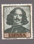Stamps Spain -  Autorretrato- Velazquez- Día del Sello