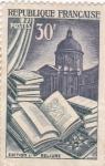 Sellos de Europa - Francia -  Literatura