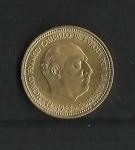 monedas de Europa - España -  F.Franco / Variante