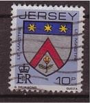 Sellos de Europa - Isla de Jersey -  escudo