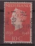 Stamps Netherlands -  Reina Guillermina
