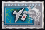 Sellos de Europa - Hungría -  Cent. UPU