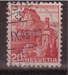 Stamps Switzerland -  Paisaje suizo