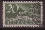 Stamps Switzerland -  correo aéreo