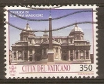 Sellos de Europa - Vaticano -  BASÌLICA  DE  SANTA  MARÌA  MAGGIORE