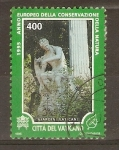Stamps Vatican City -  ESTATUA  DE  APOLO  CITAREDO