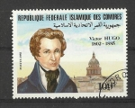 Stamps Africa - Comoros -  Victor Hugo