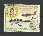Stamps Gabon -  Transafricano