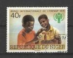 Sellos del Mundo : Africa : Nigeria : dia del niño