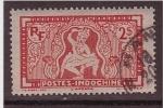 Stamps France -  Danzarín apsada- Bajorrelieve