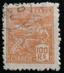 Stamps Brazil -  Aviacion