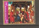 Stamps United Arab Emirates -  ARTE