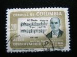 Stamps : America : Colombia :  Conservatorio de Tolima