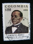 Stamps : America : Colombia :  Benito Suarez Benemerito de las Americas