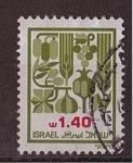 Stamps Israel -  serie- las siete especias