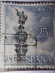 Sellos de Europa - España -  Ed:1643 Serie Turística. Monumento a Colón- Barcelona