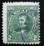 Stamps Costa Rica -  Juan Morat