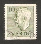 Stamps Sweden -  355 - Gustave VI Adolphe