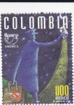 Stamps Colombia -  UPAEP