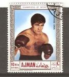 Stamps United Arab Emirates -  BOXEO
