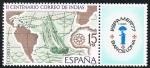 Stamps Spain -  II CENTENARIO CORREO DE INDIAS