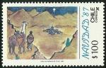 Sellos de America - Chile -  NAVIDAD 87