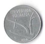 monedas de Europa - Italia -  01B - ITALIA - LIRA