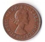 monedas de Europa - Reino Unido -  01B - GRAN BRETAÑA PENNY