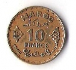monedas de Africa - Marruecos -  MAROC