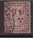 Sellos de Europa - Irlanda -  Escudo