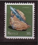 Stamps Africa - Kenya -  serie- Minerales