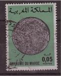 Stamps Morocco -  serie- monedas marroquies