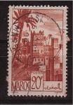 Sellos de Africa - Marruecos -  vista tipica