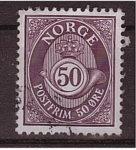 Sellos de Europa - Noruega -  correo postal